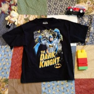 3/$10 SALE Batman Boys T Shirt size 5
